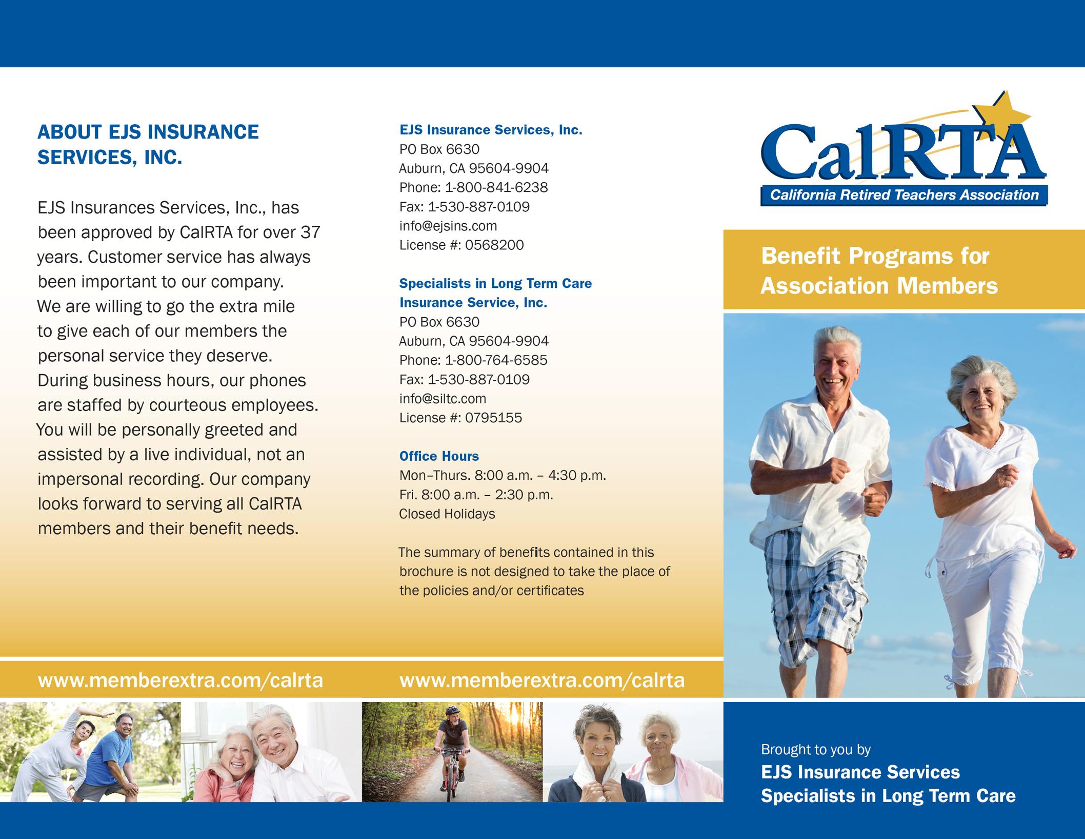 Brochure for insurance company.